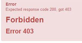 Joomla con GCalendar - Error-403-Forbidden