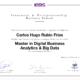 Master digital business analytics big data